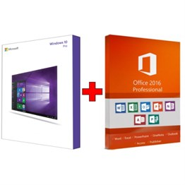 Microsoft Windows 10 Professional& Office 2016 Professional FPP Kurumsal